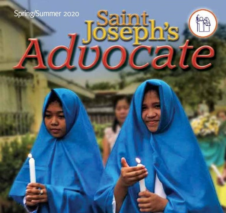 St.Joseph's Advocate Scotland Spring/Summer 2020