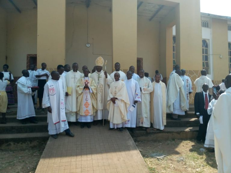 West Nile, Uganda: Ordination of William Epiti MHM