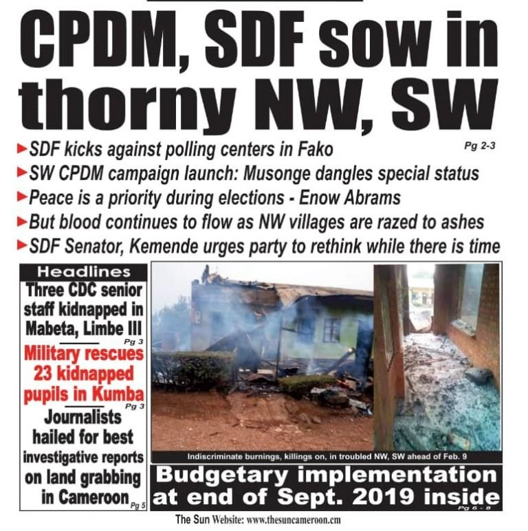 Cameroon: A Passionate Appeal – 'Stop the Violence'!
