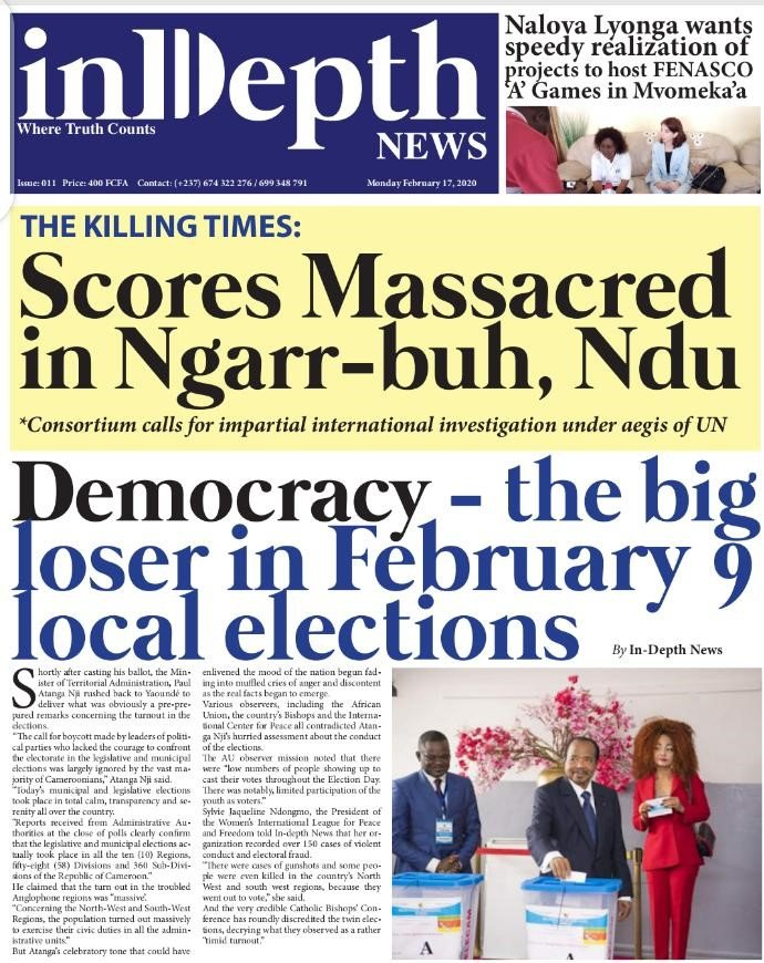 Cameroon: Reports of Massacre at Ngarr-buh, Ndu, in Anglophone NW Province