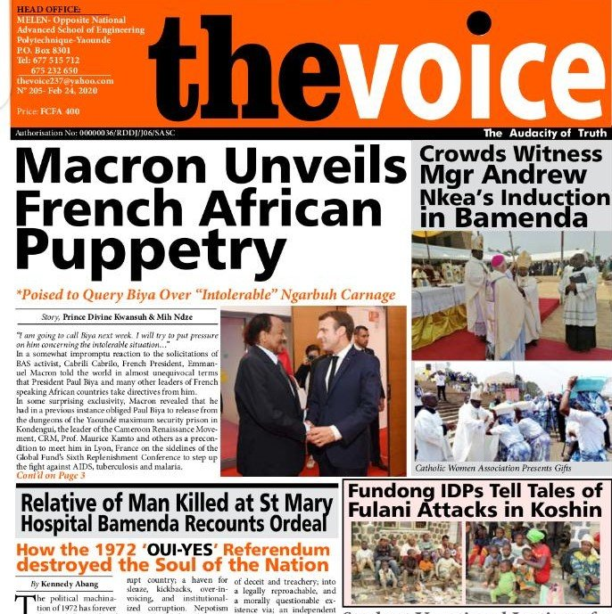 Cameroon: French Policy at the Root of Anglophone Crisis?