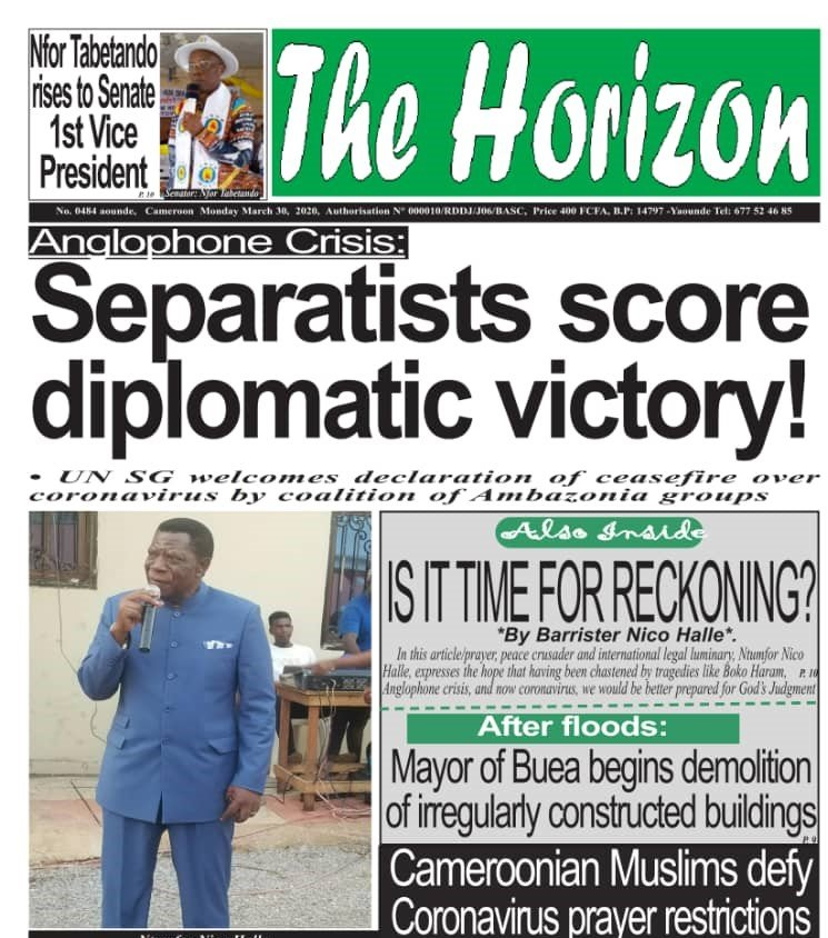 Cameroon Anglophone Crisis: Moving towards a Ceasefire