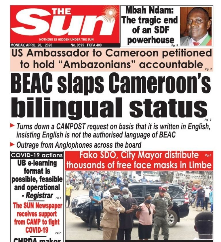 Cameroon: The Fate of Anglophone Displaced Persons in Douala