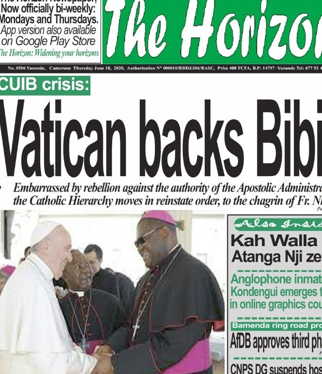 Buea, Cameroon: Commotion around Changes Operated at Catholic University Institute of Buea by Bishop Michael Bibi