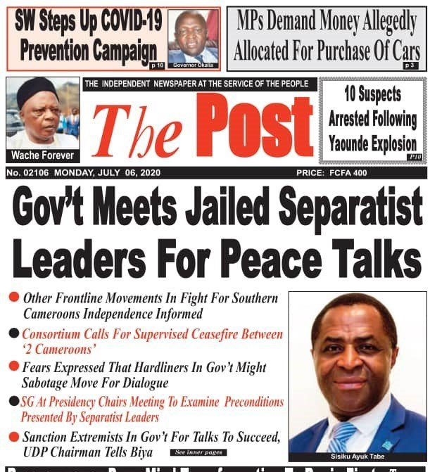 Cameroon Conflict: Government Initiates Discreet Talks with Ambazonian Seperatists