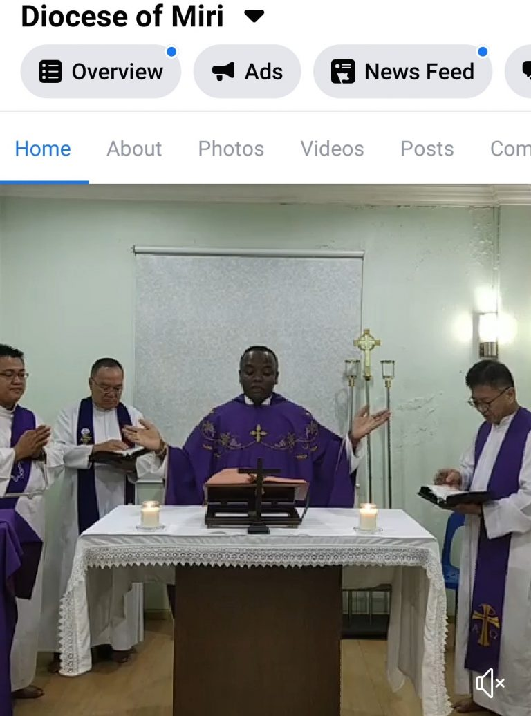 Malaysia: Mill Hill Missionaries Livestreaming Eucharist