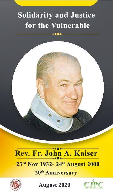 John Kaiser MHM Memorial Day, Kenya -'Where is Justice?'