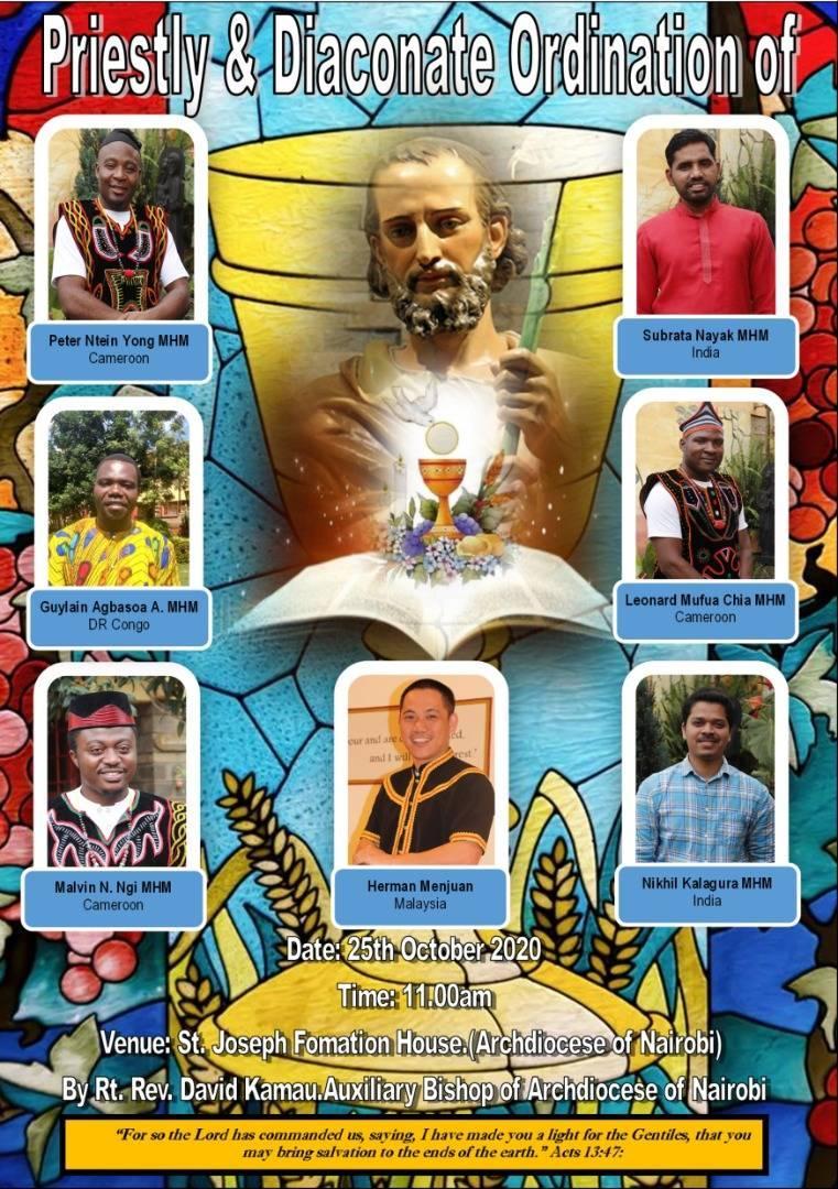 Nairobi, Kenya: Diaconate and Priestly Ordinations