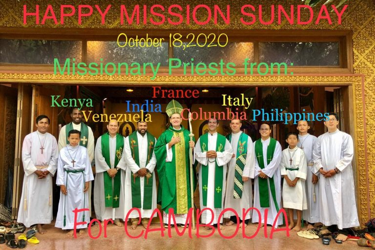 Cambodia: Celebrating World Mission Sunday