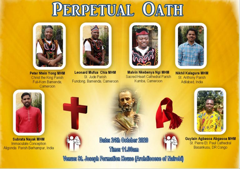 Nairobi, Kenya: Live Streaming Ceremony of Perpetual Oath Taking by Six Students