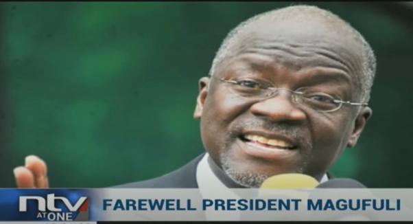 Francis Makuba MHM Reports on Death of Tanzanian President John Magufuli