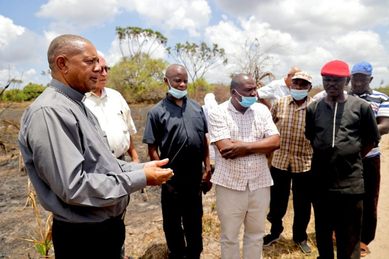 Malindi, Kenya: Newly Appointed Bishop Willybard Lagho Getting Smell of the Sheep