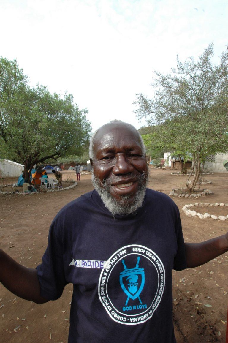 South Sudan: Retired Bishop Paride Taban (85) Models Vaccination Preparedness