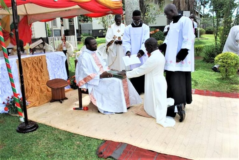 Jinja, Uganda: Temporary Oath Ceremony at Formation House
