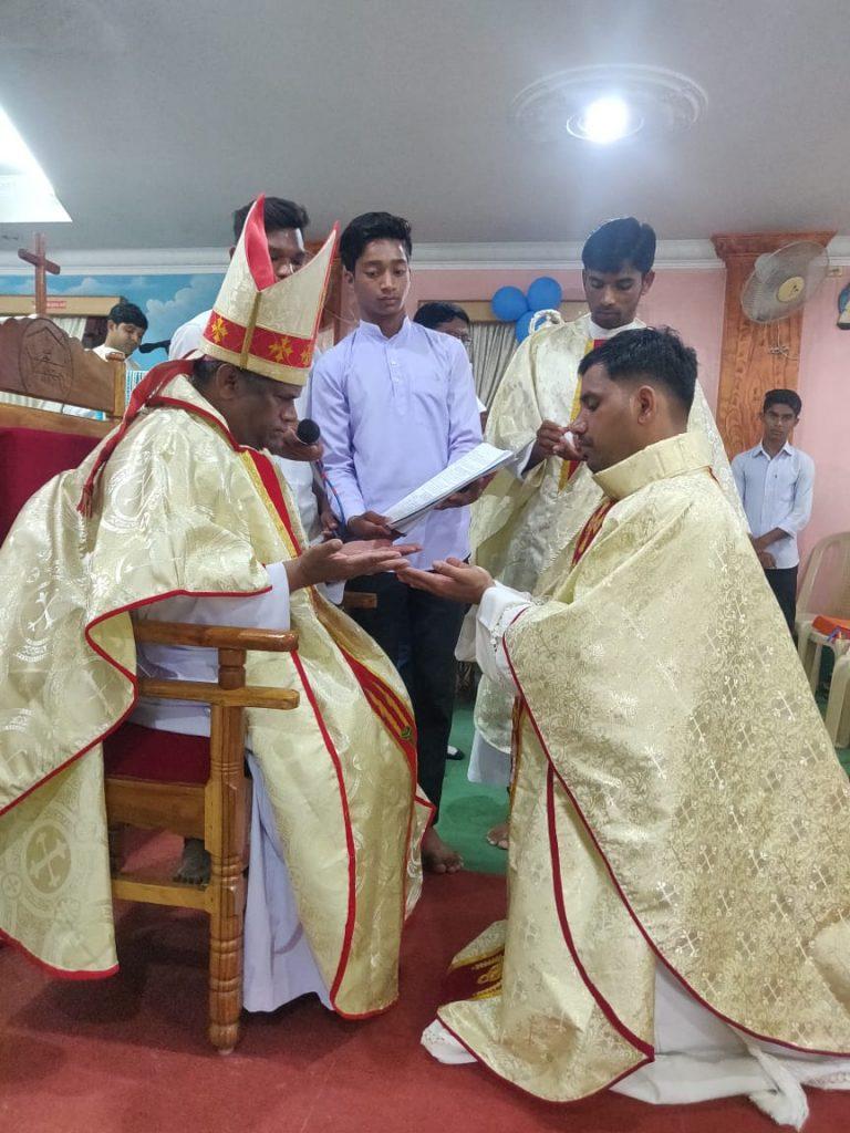 India: Ordination of Subrata Nayak MHM