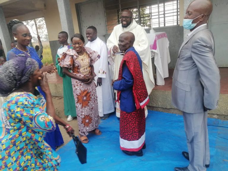 Marriage of a Traditional Chief in Mill Hill Missionary Run Parish, Kinshasa