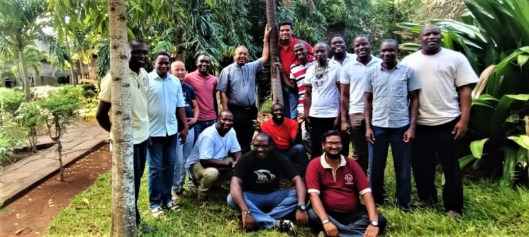 Young Mill Hill Missionaries East Africa Area Meet in Malindi